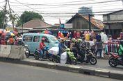 PKL Okupasi Trotoar, Tanah Abang Masih Semrawut