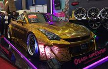 Nissan GT-R Berlapis Emas Dijual Rp 4,8 Miliar