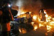 Brasil Rusuh, Kendaraan Dibakar dan Toko Dijarah
