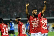 Hasil Liga 1, Bali United Permalukan Tuan Rumah Semen Padang 3-1