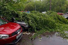 Badai Menghantam Moskwa, 11 Orang Tewas dan Puluhan Dirawat