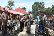 Luka Parah Terperangkap Kobaran Api, Seorang Nenek Diselamatkan Warga