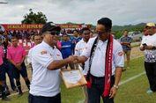 Dirikan SSB di Perbatasan, Fary Djemi Terima Penghargaan dari Menpora Timor Leste