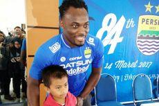 Di Persib Bandung, Michael Essien Jadi Inspirasi Anak-anak