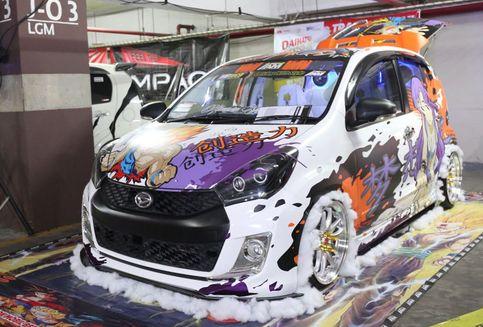 Jajaran Mobil Modif Daihatsu Pamer di Solo