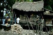 Warga dan Bupati Ganti Gubuk Reyot Nenek Saina dengan Bangunan Baru