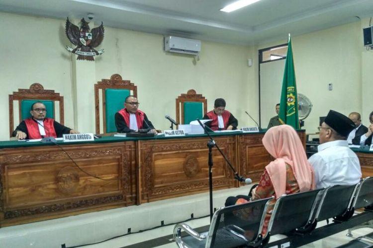 Sidang perdana Gubernur Bengkulu non aktif, Ridwan Mukti