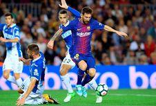 Hasil Liga Spanyol, 3 Gol Lionel Messi Menangkan Barcelona