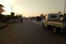 H-2, Jalan Pantura Semarang Kering dari Banjir Rob
