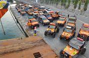 Puluhan Kendaraan 'Off-road' IOX 2017 Sudah Tiba di Kendari