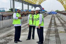 Lihat Proyek Infrastruktur, Sri Mulyani Semangat Kelola Keuangan