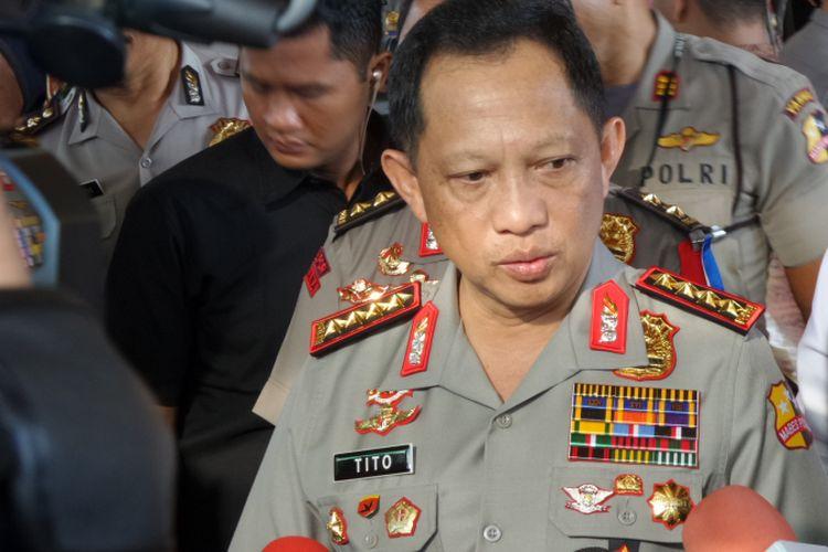 Kepala Polri Jenderal Pol Tito Karnavian
