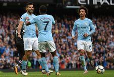 Hasil Liga Inggris, Manchester City Menang Telak 5-0