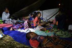 Takut Tsunami, Warga Pesisir Pulau Ambon Masih Tidur di Hutan