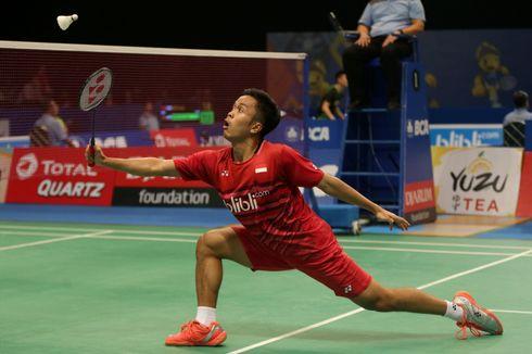 Maju ke Babak Kedua, Anthony Ginting Bertemu Pemain Hongkong