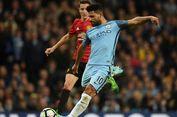 Respons Guardiola soal Ekspresi Kekecewaan Aguero Saat Diganti
