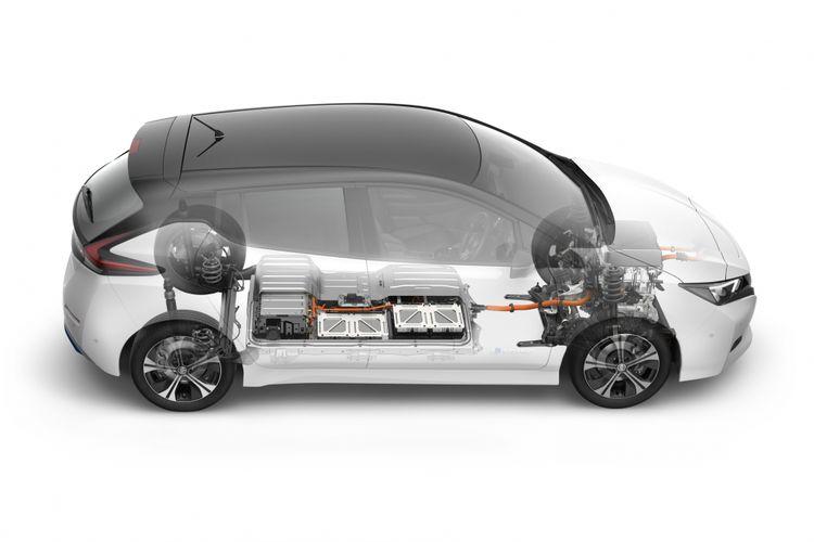 New Nissan Leaf generasi kedua.