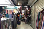 Jelang Lebaran, Pasar Tasik Thamrin City Sepi Pembeli