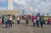 Libur Lebaran, Monas Dibanjiri 155.000 Pengunjung