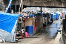 Pekan Depan, Bedeng di Jalan Inspeksi Tanah Abang Akan Ditertibkan