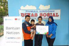 Dibantu Rumah Zakat, Donasi Netizen Kompas.com untuk Soni-Marcel Disalurkan
