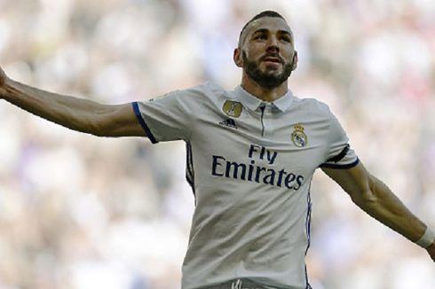 Real Madrid Perpanjang Kontrak Benzema hingga 2021
