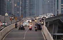 Bikers, Ingat Bahaya Melintas di Jalan Layang Non Tol
