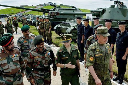 India dan Rusia Segera Gelar Latihan Militer Skala Besar