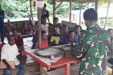 Di Perbatasan, TNI Latih Warga Menambal Ban hingga Buat Kurungan Ayam