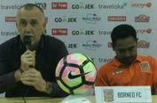 Pelatih Borneo FC Soroti Kinerja Hakim Garis