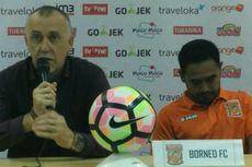 Borneo FC Pecat Pelatih