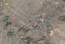 Sebuah Roket Jatuh di Distrik Diplomatik Kabul