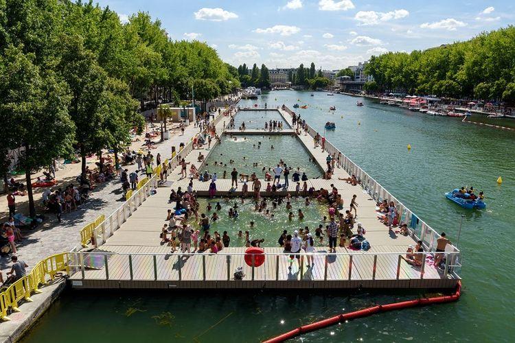 Bassin de la Villette di Paris