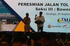 Di Depan Jokowi, Ganjar Cerita Repotnya Punya Jalan Tol Terindah