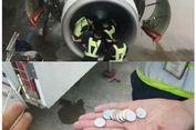 Penerbangan Ditunda setelah Seorang Nenek Lempar Koin ke Mesin Pesawat