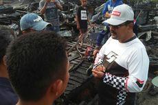 Korban Kebakaran di Karimun Kekurangan Air Bersih