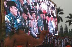 Jokowi Buka Puasa Bersama Ribuan Prajurit TNI