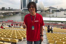 Once Mekel Dukung Sean Sekaligus Tonton F1