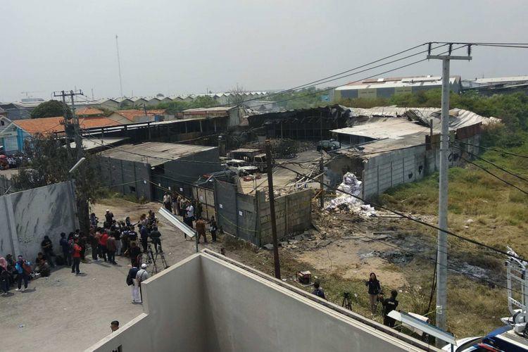 Rupanya, Ini Penyebab Pabrik Mercon di Tangerang Terbakar