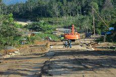 Begini Kondisi Riil Pembangunan Jalan Perbatasan di Kalimantan
