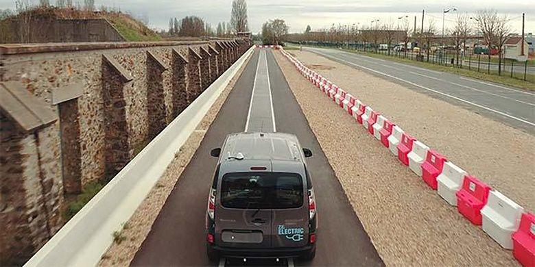 Teknologi jalan yang bisa mengisi daya kendaraan dari Qualcomm