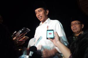 Jokowi Minta Pegiat Media Sosial Hindari 'Perang' di Dunia Maya