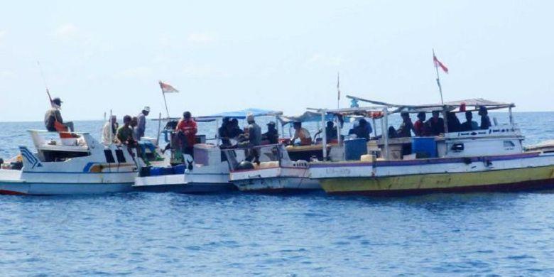 Penangkapan ikan secara ilegal oleh nelayan Indonesia dan Timor Leste masih sering terjadi, kata para peneliti dari Australia. (Foto: Dok/Ilustrasi)