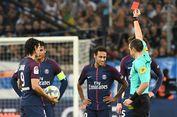 PSG Seri, Neymar Dapat Kartu Merah Pertama di Liga Perancis