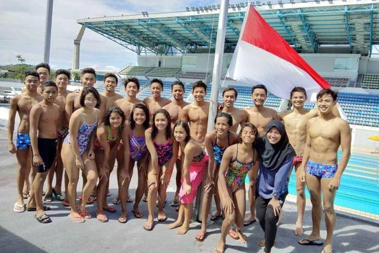 Tim Indonesia ke SEA Age Group Swimming Championship 2017