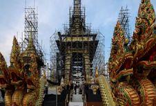 Thailand Bersiap untuk Upacara Kremasi Mendiang Raja Bhumibol