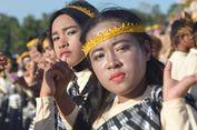Ribuan Penari dan 100 Alat Tenun Ramaikan Festival Budaya Tua Buton