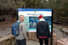 Suguhan Indahnya Teluk Wineglass Tasmania dari Ketinggian 240 Meter