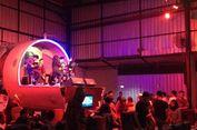 Serasa Makan dalam Pesawat di The Captain Urban Lounge, Yogyakarta