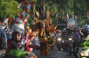 Ribuan Warga Saksikan Karnaval HUT ke-72 Kemerdekaan RI di Purwodadi